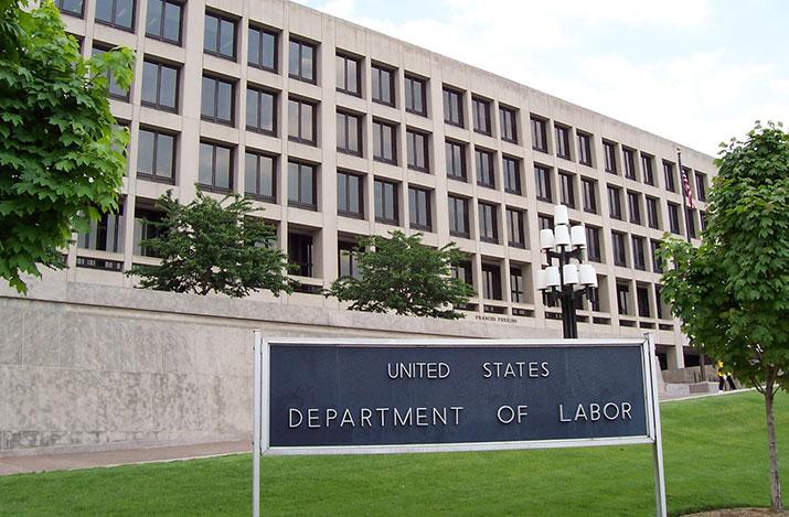 US Dept of Labor Building